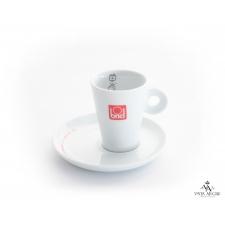 Conjunto chávena + pires de café motivo intelectual