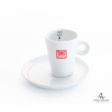 Conjunto chávena + pires de café motivo surpreso