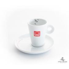Conjunto chávena + pires de café motivo desconfiado