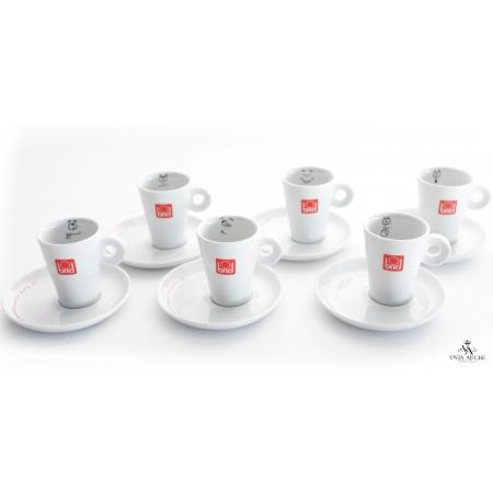Conjunto de 6 chávenas + pires de café