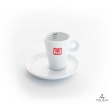 Conjunto chávena + pires de café motivo indeciso